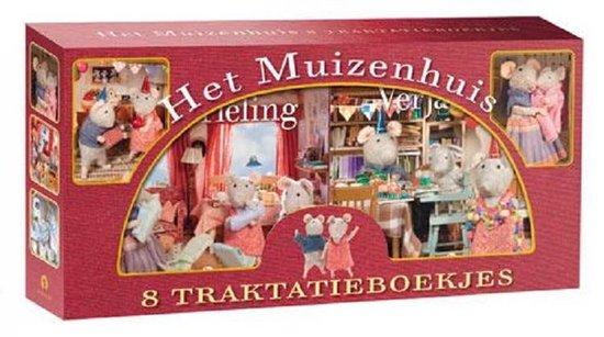 Boek cover Het Muizenhuis  -   Het muizenhuis traktakieboekjes van Karina Schaapman (Hardcover)