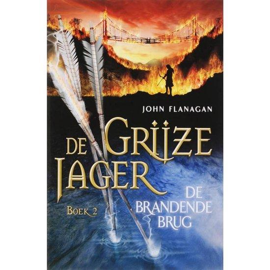 Afbeelding van De Grijze Jager 2 - De brandende brug