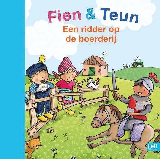 Kinderboeken voorleesboek Fien & Teun Een ridder op de boerderij - Annemarie Bon |