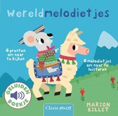 Boek cover Geluidenboekjes  -   Wereldmelodietjes van Marion Billet (Onbekend)
