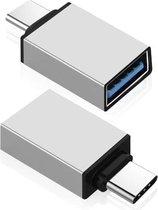USB-C naar USB-A adapter OTG Converter - Set van 2 - USB 3.0