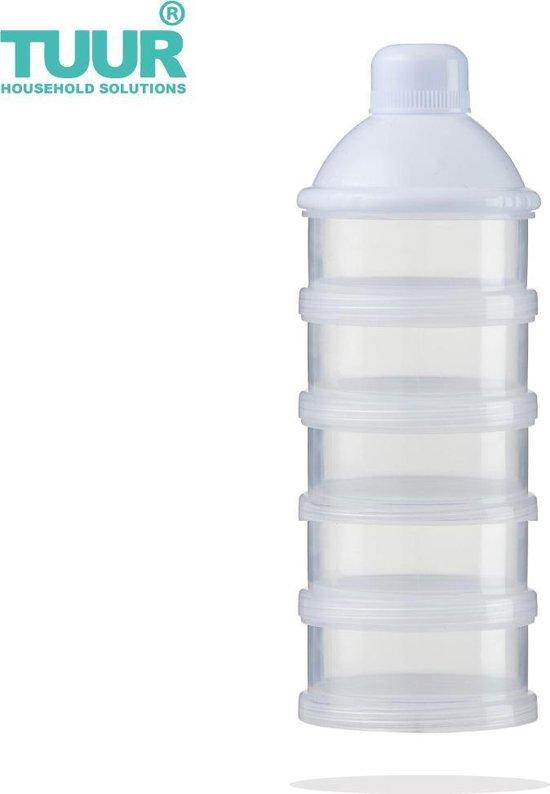 Melkpoeder Toren   Babypoeder Doseerdoosje   Doseerflesje    Kraamcadeau   Bewaarbakjes   Dispenser