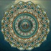 "Diamond Painting ""JobaStores®"" Mandala 04 - volledig - 40x40cm"