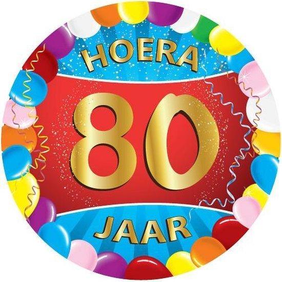 80 jaar versiering voordeel pakket verjaardag 80 jaar vieren