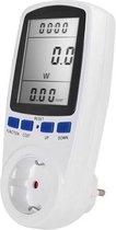 Energiemeter Vermogensmeter Overbelastingszekering Elektriciteitsanalysator
