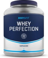 -Body & Fit Whey Perfection - Proteine Poeder / Whey Protein - Eiwitshake - 2268 gram (81 shakes) - Cappuccino-aanbieding