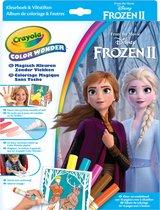 Crayola Color Wonder Frozen 2 - Kleurboek met 5 knoeivrije viltstiften