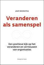 Boek cover Veranderen als samenspel van Jaap Boonstra