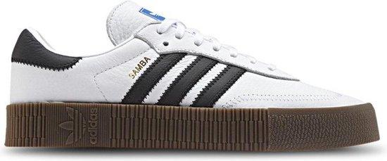 Adidas Dames Sneakers Sambarose Wmn - Wit - Maat 39⅓