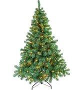 Excellent Trees® LED Stavanger Kunstkerstboom - Groen - 210 cm - 500 LEDs
