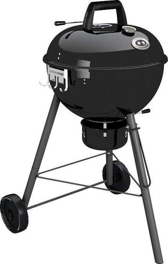 Outdoorchef Chelsea 480 C Houtskoolbarbecue -  Verrijdbaar - Zwart