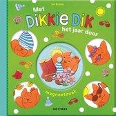 Boek cover Dikkie Dik  -   Met Dikkie Dik het jaar door van Jet Boeke (Hardcover)