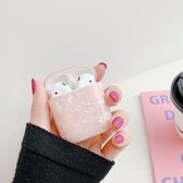 Airpods Case Cover . - Beschermhoes - Bescherm Etui Geschikt voor Apple Airpods 1/2