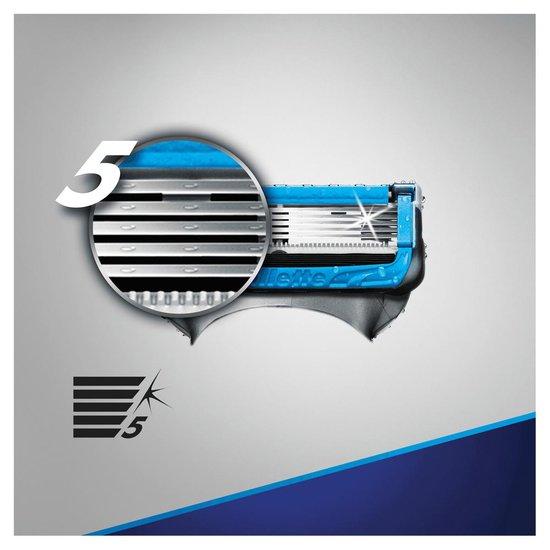 Gillette Proshield Chill Scheersysteem Voor Mannen + 5 Navulmesjes