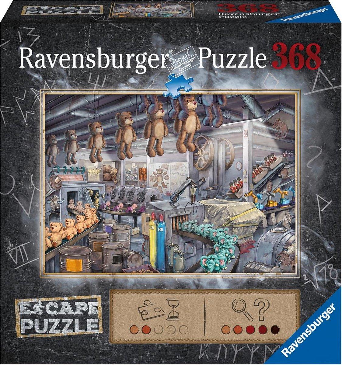 Ravensburger Escape Puzzle The Toy Factory - 368 stukjes