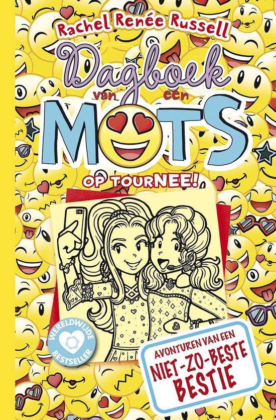 Boekomslag voor Dagboek van een muts 14 - Op tourNEE!