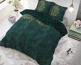 Sleeptime Chrone - Dekbedovertrekset - Tweepersoons - 200x200/220 + 2 kussenslopen 60x70 - Groen