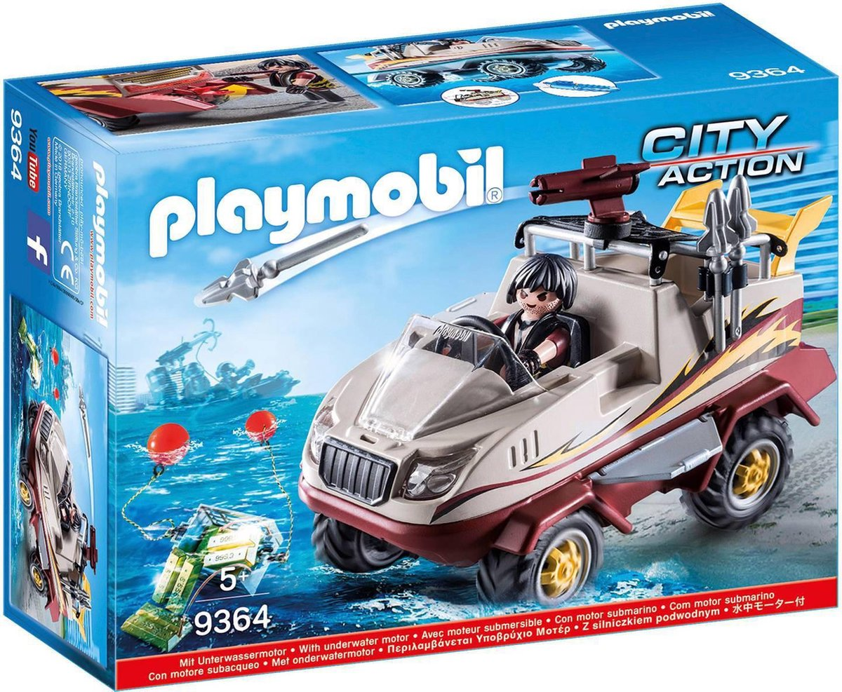 Amfibievoertuig Playmobil (9364)