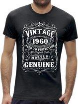 Perfection 60 jaar verjaardag t-shirt / kado tip / Heren / cadeau / leeftijd