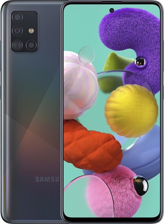 Samsung Galaxy A51 - 128GB - Zwart