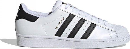 adidas Superstar Heren Sneakers- Ftwwht/Cblack/Ftwwht - Maat 39 1/3