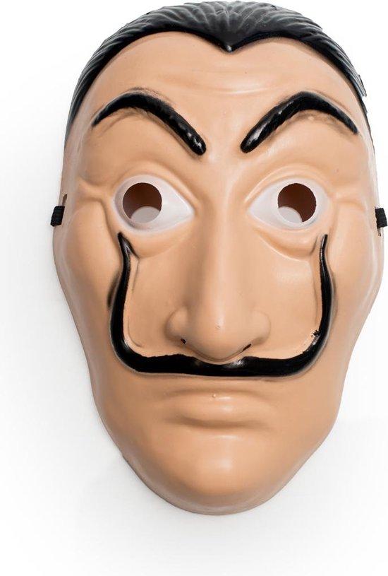 La Casa de Papel masker - Dali masker - El Salvador Masker