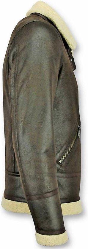 Lammy Coat Heren | Imitatie Bontjas | Fake Fur jas | Style