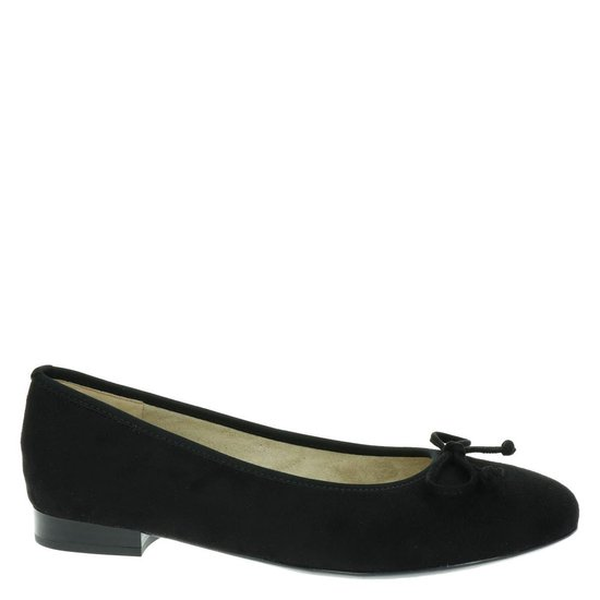 Ara Mogli dames ballerina - Zwart - Maat 38,5