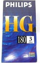 Philips VHS band HG 180 min HI-GRADE VIDEO CASSETTE