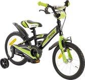 2Cycle BMX Kinderfiets - inch - Groen-Zwart - Jongensfiets