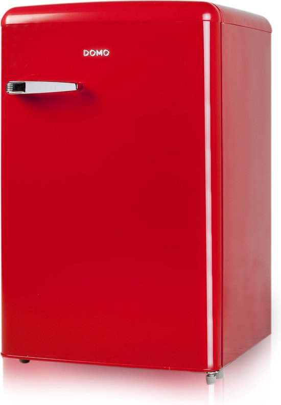 Koelkast: Domo DO981RTKR - Tafelmodel koelkast - Rood, van het merk Domo