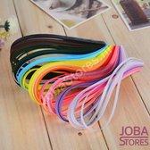 """Papierkunst """"JobaStores®"""" (Paper Quilling) stroken 7x390mm (260 stuks)"""