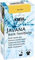Javana Neon Gele Batik Textile Dye - 70ml tie dye verf