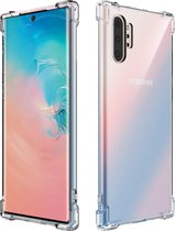 Samsung Galaxy Note 10 Plus Hoesje - Anti Shock Hybrid Case - Transparant