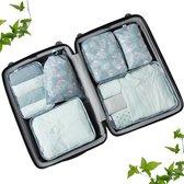 Travel cubes | Packing Cubes Set 6-delig | Koffer accessoires| Opbergtassen | Opbergzakken | | Kleding organizer | Travel bags | Onbezorgd en georganiseerd reizen| Reistas | Flamingo