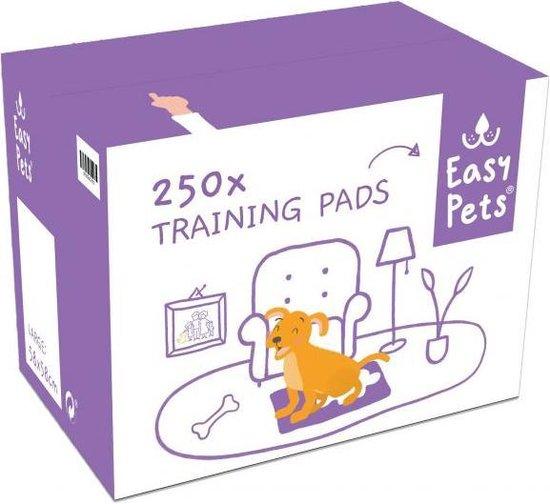 Easypets - Puppy training pads - Zindelijkheidstraining - Hondentoilet - 58 x 58 cm - 250 stuks