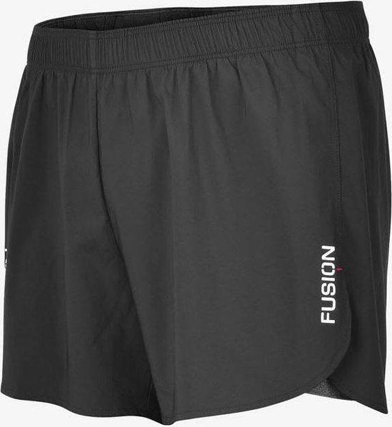 Fusion C3+ 2-in-1 Run Shorts Zwart Unisex