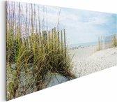 Duin en strand  - Schilderij 156 x 52 cm