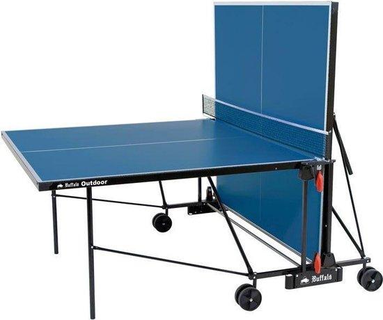 Buffalo Outdoor tafeltennistafel blauw