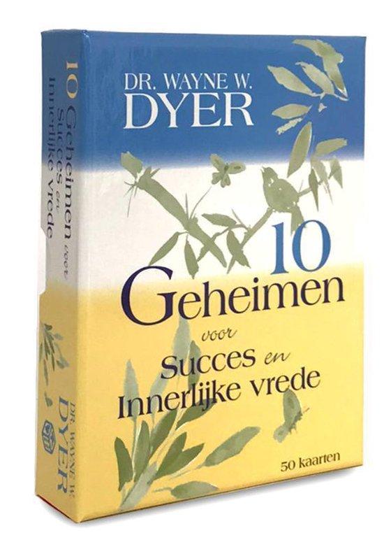 Cover van het boek '10 Geheimen voor succes en innerlijke vrede' van Wayne W. Dyer