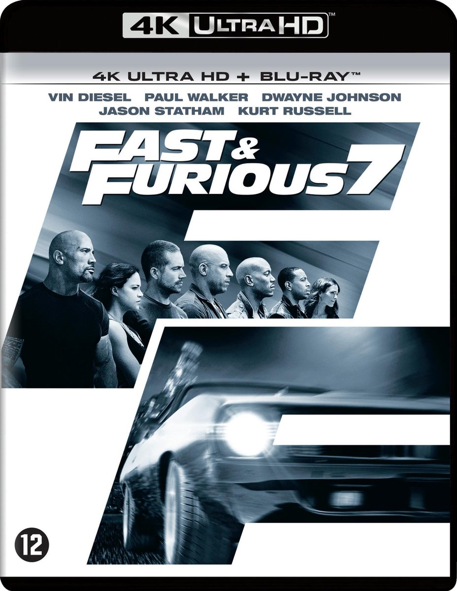 Fast & Furious 7 (4K Ultra HD Blu-ray)-