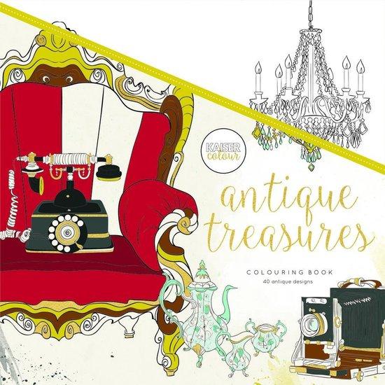Kaisercraft Kleurboek voor Volwassenen Antique Treasures - Kaiser Craft |