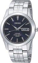 Seiko SGG717P1 horloge heren - zilver - edelstaal