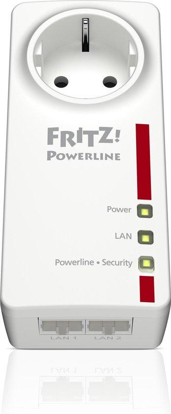 AVM FRITZ!Powerline 1220E - Gigabit powerline zonder wifi - Uitbreiding