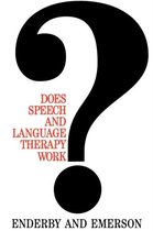 Does Speech and Language Therapy Work?