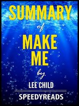 Omslag Summary of Make Me by Lee Child
