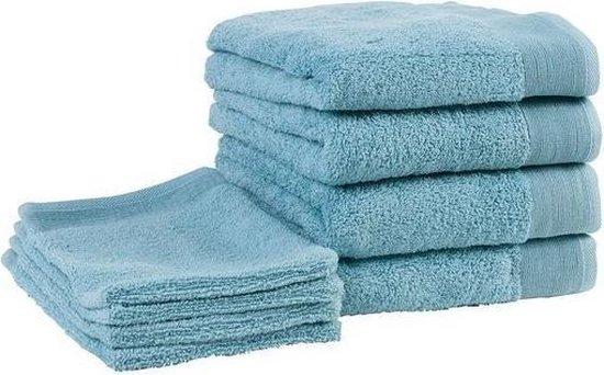 Badgoedset Walra - 4 washandjes en 4 handdoeken