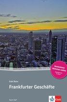 Tatort DaF - Frankfurter Geschäfte (A2-B1) Buch + Access Online Hörtext