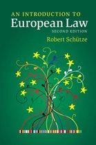 Boek cover An Introduction to European Law van Robert Schütze (Paperback)