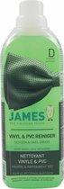 James Vinyl & PVC reiniger Schoon & Snel droog